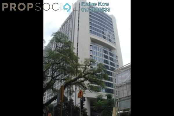 For Sale Office at Plaza 138, KLCC Freehold Semi Furnished 0R/0B 580k