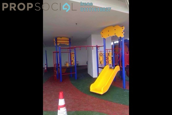 For Rent SoHo/Studio at i-City, Shah Alam Freehold Fully Furnished 0R/1B 1.1k