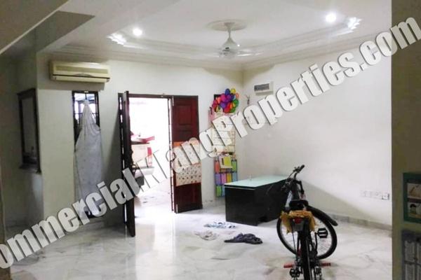 For Sale Terrace at Taman Saga, Klang Freehold Semi Furnished 4R/3B 480k