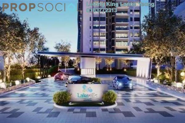 For Sale Apartment at Lakeville Residence, Jalan Ipoh Freehold Unfurnished 3R/2B 438k