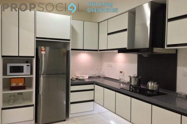 For Sale Condominium at E Park Residences, Sungai Buloh Freehold Semi Furnished 3R/2B 444k