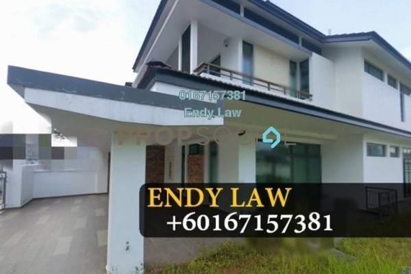 For Sale Semi-Detached at Eco Botanic, Skudai Freehold Fully Furnished 5R/5B 1.85m
