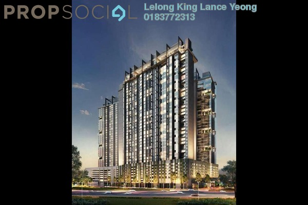 For Sale Serviced Residence at M City, Ampang Hilir Freehold Unfurnished 0R/0B 548k