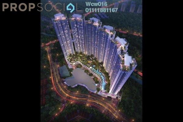 For Sale Condominium at The ERA, Segambut Freehold Semi Furnished 3R/2B 450k