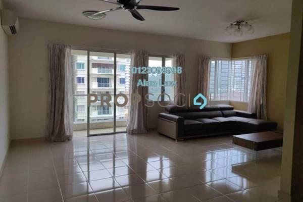 For Rent Condominium at Platinum Hill PV8, Setapak Freehold Semi Furnished 3R/2B 2.2k
