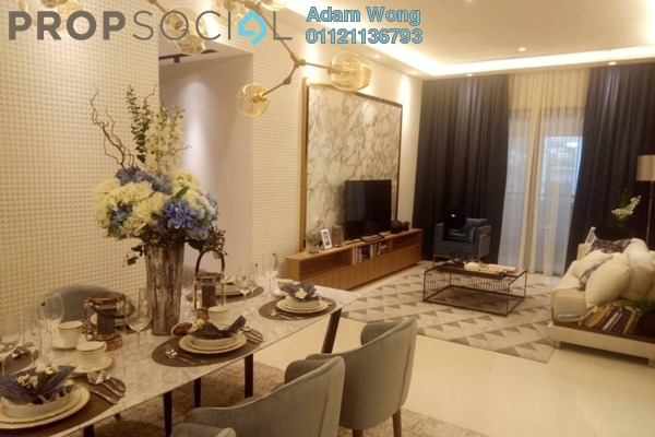 For Sale Condominium at Solaris Dutamas, Dutamas Freehold Semi Furnished 2R/2B 950k