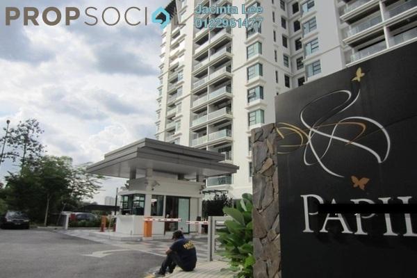 For Sale Condominium at Papillon Desahill, Taman Desa Freehold Semi Furnished 4R/4B 1.05m
