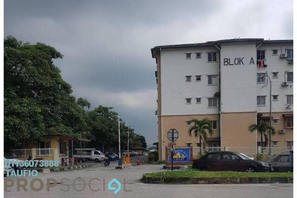 For Sale Apartment at Taman Bukit Serdang, Seri Kembangan Freehold Unfurnished 3R/2B 265k
