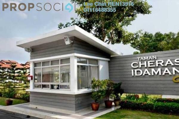 For Sale Terrace at Taman Cheras Idaman, Bandar Sungai Long Freehold Semi Furnished 5R/3B 788k