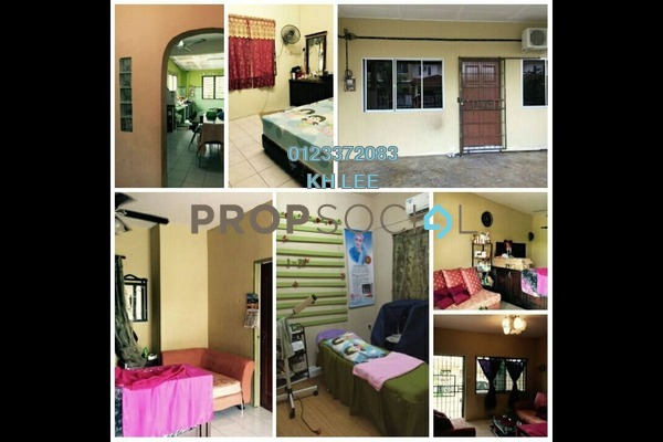 For Sale Terrace at Desa Ilmu, Kota Samarahan Freehold Semi Furnished 3R/2B 330k