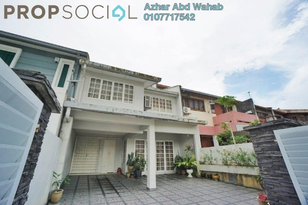 For Sale Terrace at Zaaba, TTDI Freehold Semi Furnished 5R/3B 1.35m