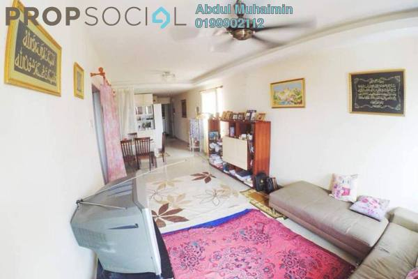 For Sale Apartment at The Lumayan, Bandar Sri Permaisuri Freehold Semi Furnished 3R/2B 325k