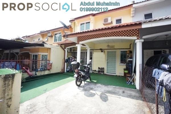 For Sale Terrace at Taman Bukit Indah, Ampang Freehold Semi Furnished 4R/3B 630k