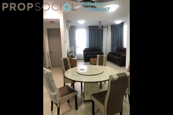For Rent Condominium at KL Gateway, Bangsar South Freehold Fully Furnished 3R/2B 3.8k