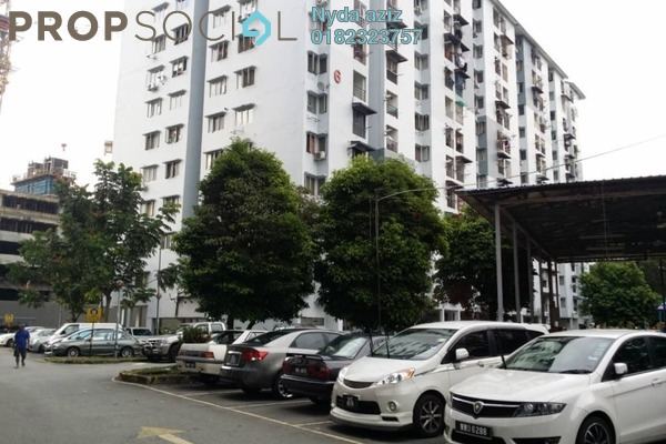 For Sale Apartment at Teratai Mewah Apartment, Setapak Freehold Unfurnished 3R/1B 229k