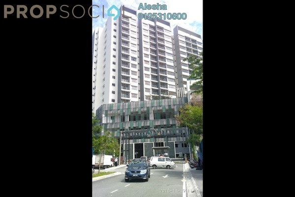 For Sale Serviced Residence at Suria Residence, Bukit Jelutong Freehold Unfurnished 0R/0B 612k