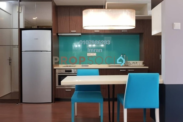 For Rent Serviced Residence at VERVE Suites, Mont Kiara Freehold Fully Furnished 0R/1B 2.1k