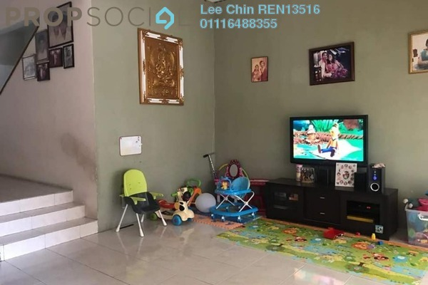 For Sale Terrace at Palm Walk, Bandar Sungai Long Freehold Semi Furnished 4R/3B 605k