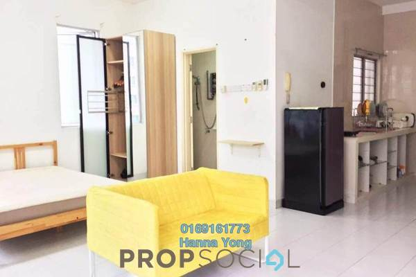 For Sale SoHo/Studio at Casa Tiara, Subang Jaya Freehold Fully Furnished 0R/1B 370k