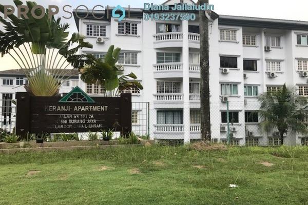 For Rent Apartment at Keranji Apartment, Subang Jaya Freehold Fully Furnished 3R/2B 1.7k