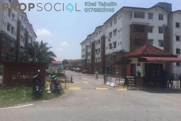 For Sale Apartment at Seri Mawar Apartment, Bandar Seri Putra Freehold Unfurnished 3R/2B 170k