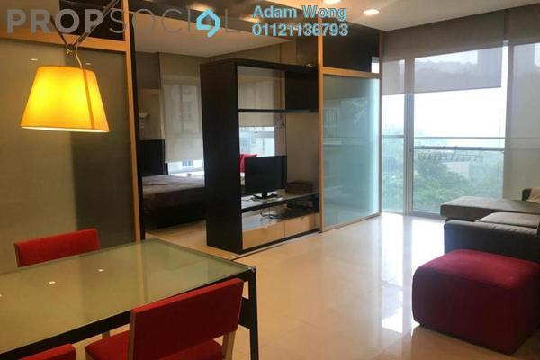 For Sale Condominium at VERVE Suites, Mont Kiara Freehold Fully Furnished 1R/1B 615k