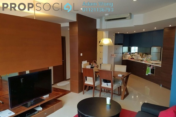 For Sale Condominium at VERVE Suites, Mont Kiara Freehold Fully Furnished 2R/2B 890k