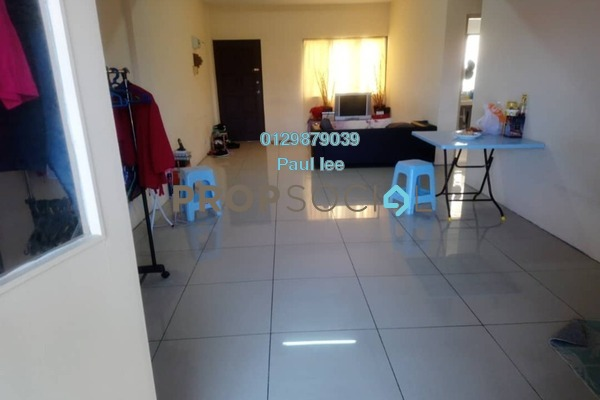 For Sale Apartment at Happy Mansion, Petaling Jaya Freehold Semi Furnished 3R/2B 550k