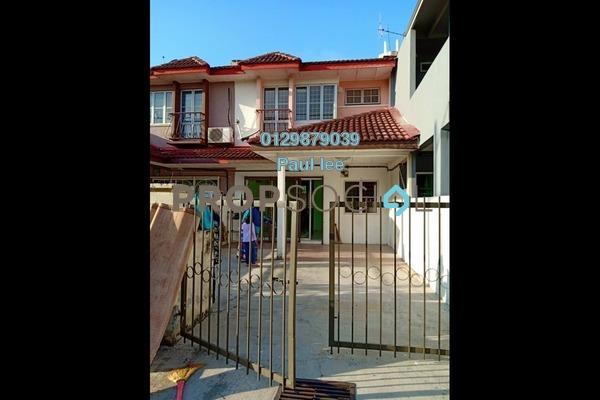 For Sale Terrace at PU8, Bandar Puchong Utama Freehold Semi Furnished 4R/3B 500k