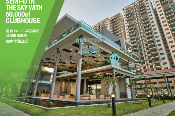 For Sale Condominium at X2 Residency, Puchong Leasehold Fully Furnished 5R/5B 738k