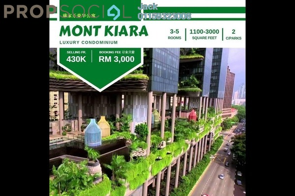 For Sale Condominium at The ERA, Segambut Freehold Semi Furnished 3R/2B 435k