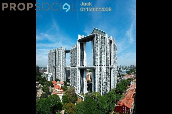 For Sale Condominium at The Horizon Residences, KLCC Freehold Semi Furnished 2R/2B 250k