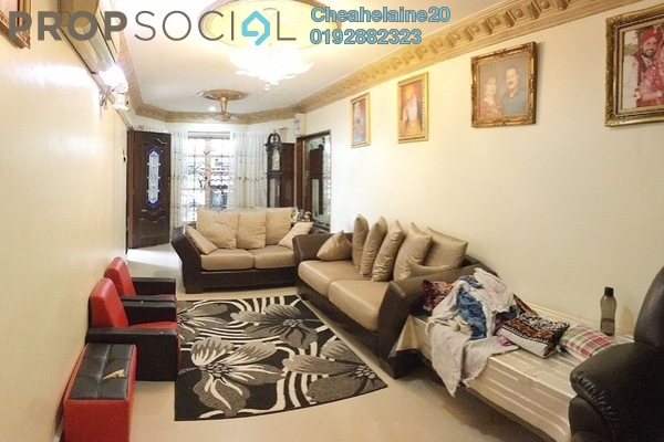 For Sale Terrace at Taman Setapak, Setapak Freehold Semi Furnished 4R/3B 730k