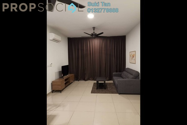 For Rent Condominium at The Henge Residence, Kepong Freehold Semi Furnished 3R/2B 2.2k