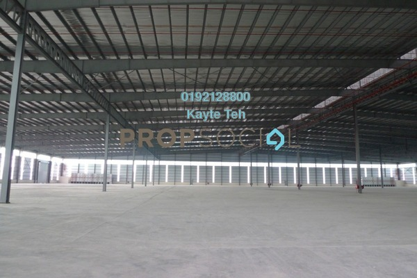 For Rent Factory at Section 15, Shah Alam Freehold Unfurnished 0R/0B 200k