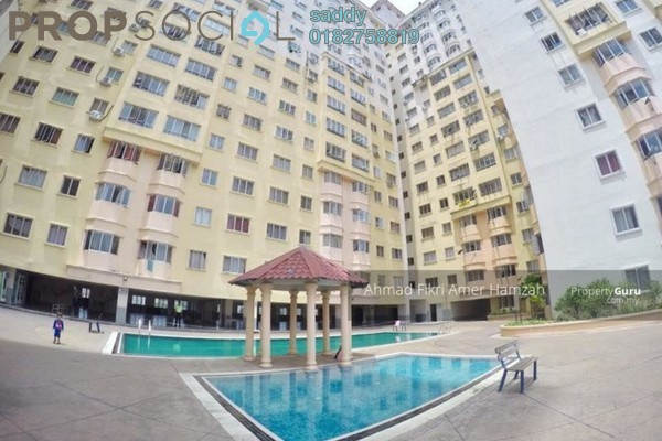 For Rent Serviced Residence at Serdang Skyvillas, Seri Kembangan Freehold Semi Furnished 3R/2B 1k