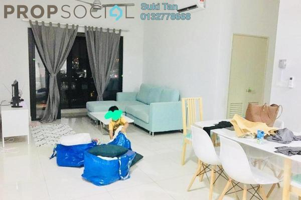 For Rent Condominium at The Henge Residence, Kepong Freehold Semi Furnished 3R/2B 2k