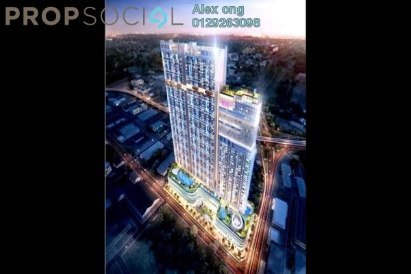 For Sale Condominium at KL Plaza Suites, Bukit Bintang Freehold Fully Furnished 4R/2B 419k