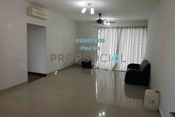 For Rent Condominium at Zen Residence, Puchong Freehold Semi Furnished 4R/2B 1.5k