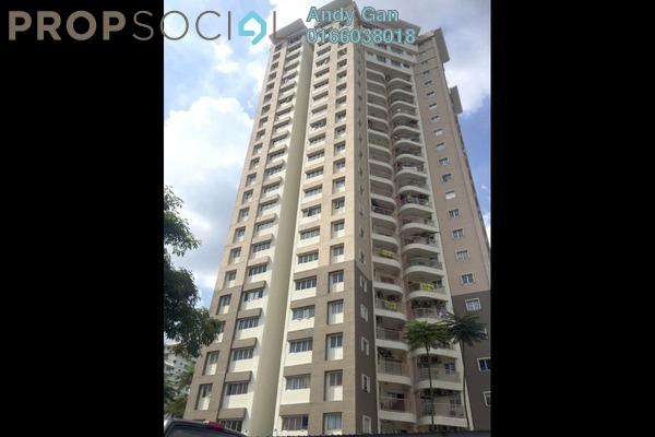 For Rent Condominium at Sri Angsana Hilir, Desa Pandan Freehold Semi Furnished 3R/2B 1.9k