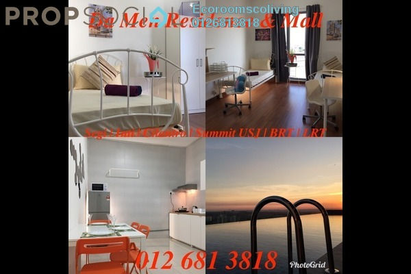 For Rent Condominium at Da Men, UEP Subang Jaya Freehold Fully Furnished 2R/2B 750translationmissing:en.pricing.unit