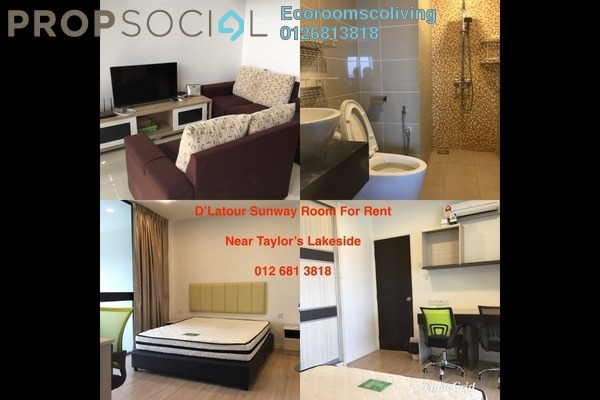 For Rent Duplex at D'Latour, Bandar Sunway Freehold Fully Furnished 2R/2B 600translationmissing:en.pricing.unit