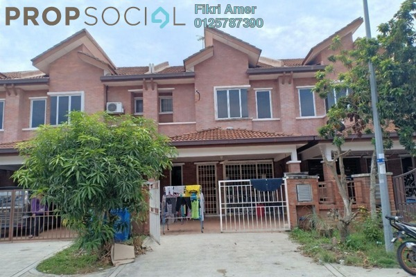 For Sale Terrace at Alam Budiman, Shah Alam Freehold Unfurnished 4R/3B 550k