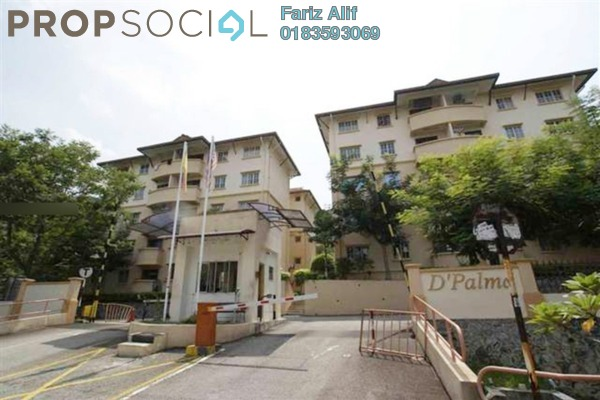 For Sale Apartment at D'Palma Apartment, Pusat Bandar Puchong Freehold Unfurnished 3R/2B 280k