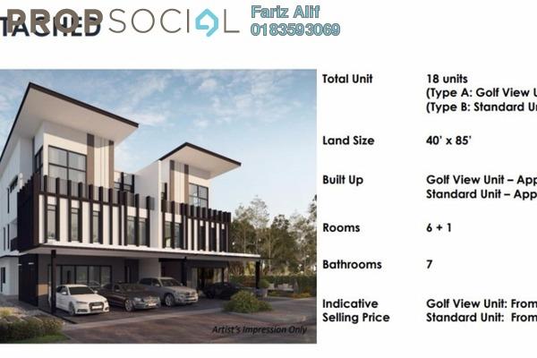 For Sale Semi-Detached at Kalista Park Homes, Bukit Rahman Putra Leasehold Unfurnished 6R/7B 2.5m