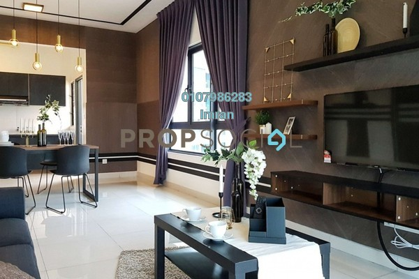 For Rent Serviced Residence at The Link 2 Residences, Bukit Jalil Freehold Fully Furnished 3R/2B 3.6k