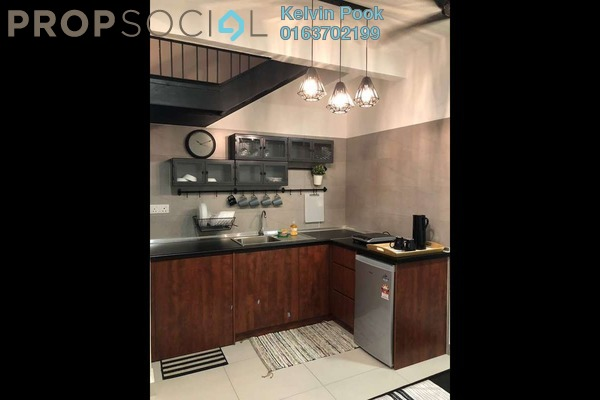 For Rent Condominium at Sawtelle Suites Cyberjaya, Cyberjaya Freehold Fully Furnished 1R/2B 1.5k