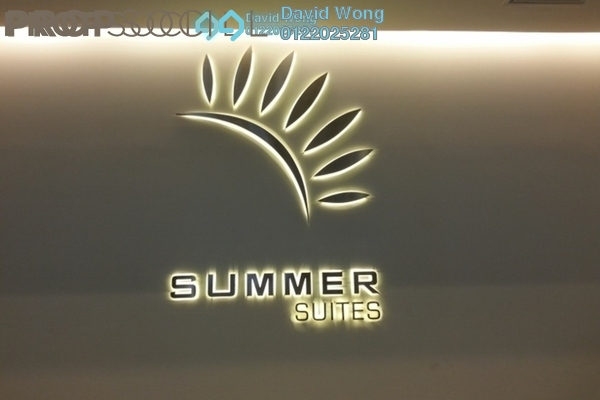 For Sale Condominium at Summer Suites, KLCC Freehold Fully Furnished 2R/1B 760k