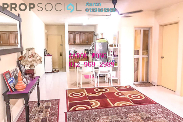 For Sale Condominium at Flora Damansara, Damansara Perdana Freehold Semi Furnished 3R/2B 190k