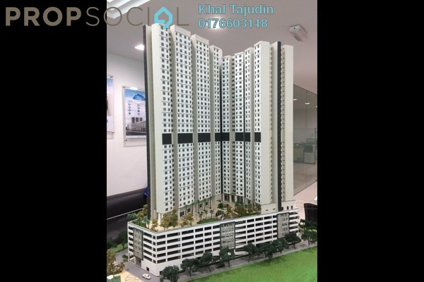 For Sale Apartment at Impiana Sky Residensi, Bukit Jalil Leasehold Unfurnished 3R/2B 270k